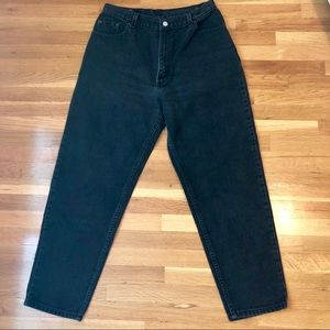 Black Vintage 550 Levi's Relaxed fit Mom Jeans